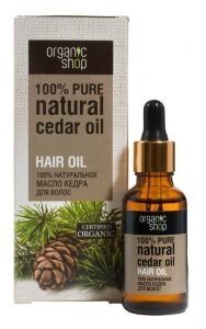 Sosnowy olejek do włosów Organic Shop